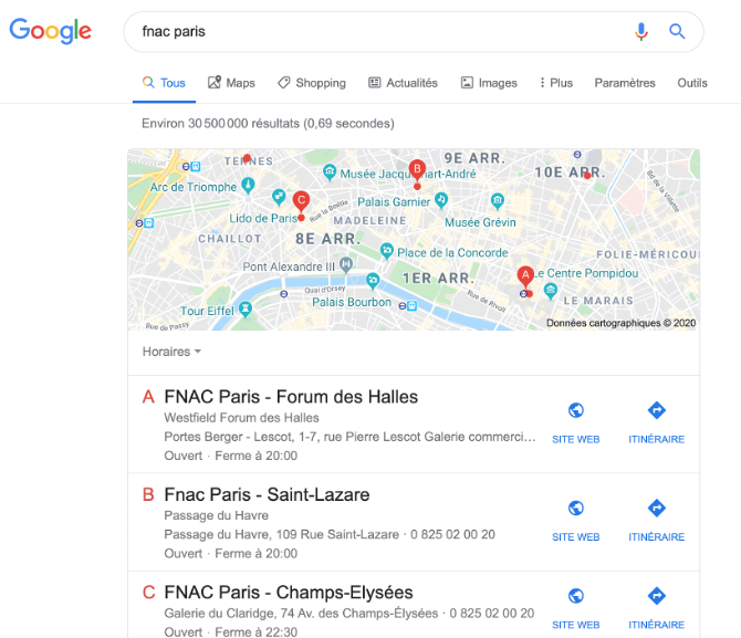 google-local-pack-exemple